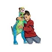 Melissa & Doug Giant T-Rex Dinosaur - Lifelike Stuffed Animal (over 0.5 meters tall)