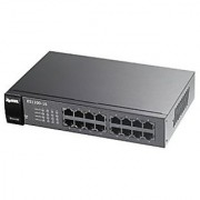 ZyXEL 16-Port Unmanaged Fast Ethernet Switch (ES1100-16)