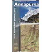 Annapurna: Trekking Map & Complete Guide 2012 by Partha S. Banerjee