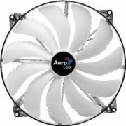 Ventilator Aerocool Silent Master White LED 200mm