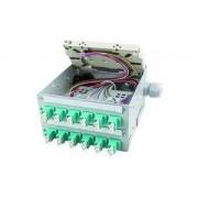 Telegärtner STX-Tragschienen-Verteiler, 12 x SC-Duplex (H82050G0102)