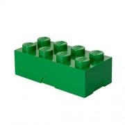 Abeba Légo 40231734 Boîte à Déjeuner 8 Plots Plastique Vert 200 x 100 x 75 cm