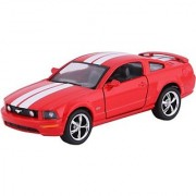 Baby Steps Kinsmart Die-Cast Metal 2006 Ford Mustang Gt Sports (Red)