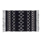 Wasbaar tapijt Bereber Black - 140x200cm