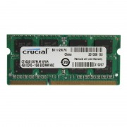 4Go RAM PC Portable SODIMM Crucial CT4G3S1067M.C16FKR DDR3 PC3-8500 1066MHz