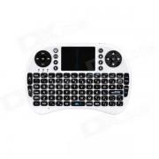Raton sin hilos del teclado del ipazzport 2.4GHz para el androide TV / PC (2 aaa de x)