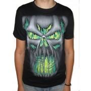 Koszulka gotycka z dwustronnym nadrukiem - FEAR
