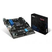 MSI A78M-E45 V2 Scheda Madre, Nero/Blu