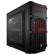 Corsair Boitier PC Carbide Series SPEC-03 PC Moyen tour ATX Noir LED Rouge (CC-9011052-WW)
