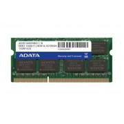 ADATA 8GB DDR3 1600 SODIMM SINGLE TRAY