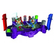 Tomy - T60855 - Doble Box Battroborg Tortugas Ninja - Leonardo Vs Raphael