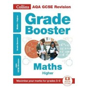 AQA GCSE Maths Higher Grade Booster for grades 5-9 by Collins GCSE