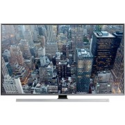 "Televizor LED Samsung 216 cm (85"") 85JU7000, Ultra HD, 3D, Smart TV, PQI 1300, DTS Premium Sound 5.1, CI+ + Lantisor placat cu aur si argint + Cartela SIM Orange PrePay, 6 euro credit, 4 GB internet 4G, 2,000 minute nationale si internationale fix sau SMS"