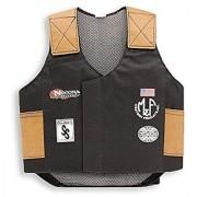 M & F Western Boys' Bull Rider Play Vest 2-10 Years Black Small