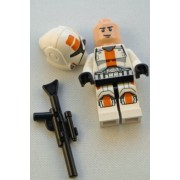 LEGO Star Wars Minifigure Clone Trooper from Set 75001 (Long Blaster)