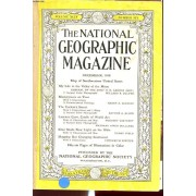 The Natinal Geographic Magazine Volume Xciv Number Six : Map Of Southwestern United States...