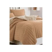 3 Piece Solid Reversible Coverlet Set