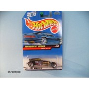 Hot Wheels Sweet 16 Ll Unpainted Malaysia Base Collector #979 by Mattel