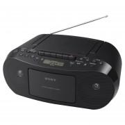 Radiograbadora Sony CFDS50 Portatil CD Cassette Radio - Neg