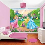 Disney Hercegnõk gyerekszoba tapéta, Walltastic