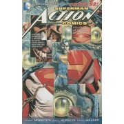 Superman Action Comics Volume 3: At The End of Days HC (The New 52) by Grant Morrison