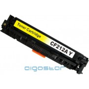 Vervanger HP CF212A Geel 1800 pag. Huismerk in tonerdoos.