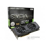 Placa video EVGA nVidia GTX 980 4GB DDR5 (Superclocked) ACX 2.0- 04G-P4-2983-KR