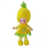 Cute Plush Toy Music Singing Doll Baby Musical Soft Stuffed Dolls Pineapple