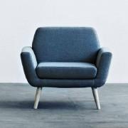 SCOPE, un fauteuil épuré et très confortable, parfait compagnon du canapé SCOPE - déco et design
