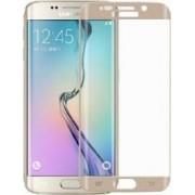 Folie Protectie Sticla Curbata Samsung Galaxy S7 Edge Auriu