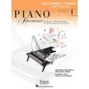 Libro de Lecciones y Teoria, Nivel 4: Faber Spanish Edition Level 4 Lesson & Theory Book