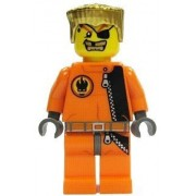 """Gold Tooth - LEGO Agents 2"""" Figure"""