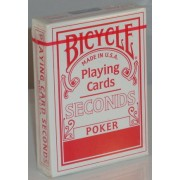 Bicycle Deck (808) Poker Seconds Red