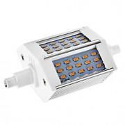 Lâmpadas Espiga Regulável R7S 6W 528 LM 2800-3000 K Branco Quente 48 SMD 3014 AC 220-240 V T