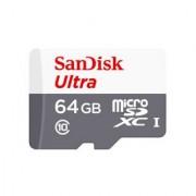 SanDisk Ultra MicroSDXC 64GB UHS-I Class 10 Memory Card (Upto 48 MB/s Speed)