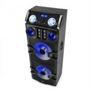 MALONE Big Party 2500, DJ party audio rendszer, LED, karaoke, 240 W, RMS (AV2-Big Party 2500)