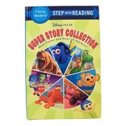 Disney Pixar Step into Reading Hardcover Edition ~ Super Story Collection (2016; 7 Level Readers Comprised of Levels 1
