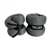 Tegovi sa čičkom od 2x 2kg (tamno sivi) - RX AW 2201