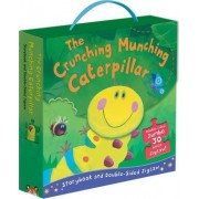 The Crunching Munching Caterpillar: Storybook and Double-Sided Jigsaw by Sheridan Cain