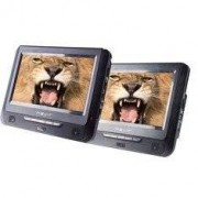 "Nevir NVR-2770DVD Kit DVD portátil (2 pantallas, 7"" LCD, USB, lector SD)"