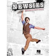 Newsies Music from the Broadway Musical Easy Piano Songbook Pf Bk by Alan Menken