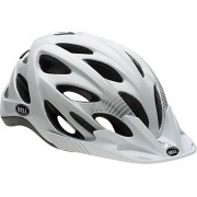 Bell, Casco da ciclismo Muni, Bianco (White/Silver Vis), 50-57 cm