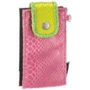 Poodlebags 5EN0313MOSNP entertainbag - Snake, Custodia per cellulari e smartphone donna 7x13x2 cm (L x A x P)