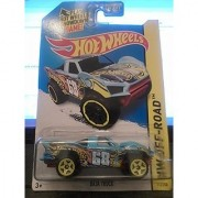 2014 Hot Wheels Hw Off-Road 112/250 - Baja Truck - Light Blue