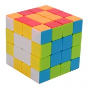 V5-Space® 4x4x4 Intelligence Vivid Colors Stickerless Speed Puzzle Cube Ultra-Smooth Magic Cube