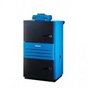 CAZAN PE COMBUSTIBIL SOLID DIN OTEL CU GAZEIFICARE LOGANO S121 38 KW