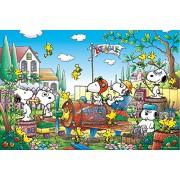Recuerdos 11-393 Guru 1000 pieza Snoopy de tierra vacante! Puzzle Aim (jap?n importaci?n)