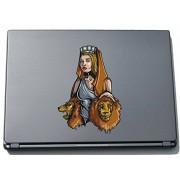 Per computer portatile da Titan greca 006 - TITANI greca - 210 x 152 mm adesivo