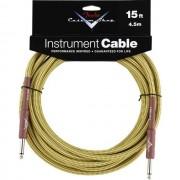 Fender - Custom Shop Cable 4,5m TW Tweed, Kli/Kli