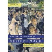 The Norton Anthology of Western Music: Volume 2 by J. Peter Burkholder